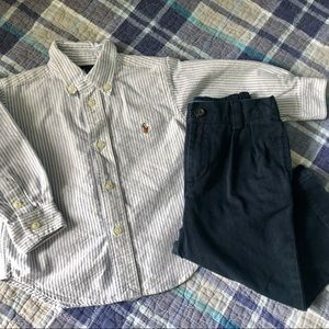 Ralp Lauren Polo Boys Dressy Outfit